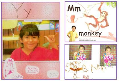 ABC Phonics Experts book or a class-made ABC Phonics book