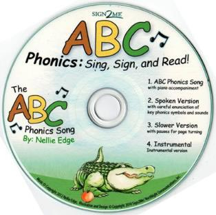 ABC Phonics song, challenge children to perform the traditional ABC song with fingerspelling!