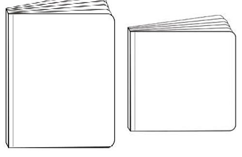 1. blank Chunky Bare Books