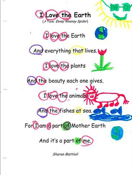 Poetry Month and Earth Day Connections