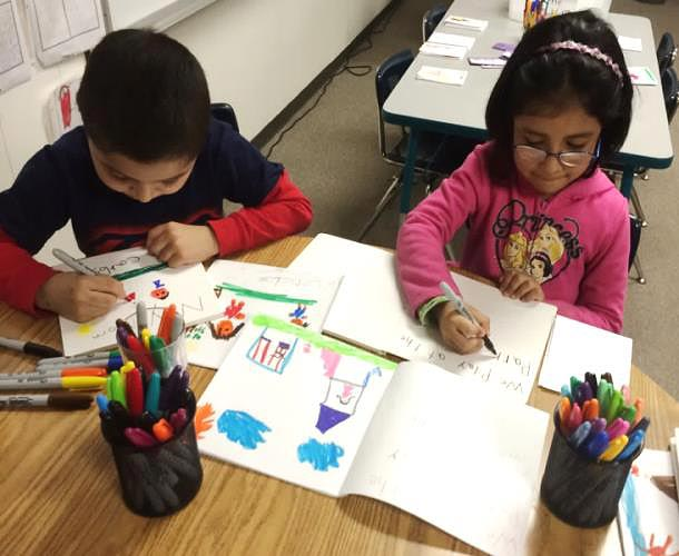 kindergarners 10. illustrate pictures from their prototype creating a beautiful published book