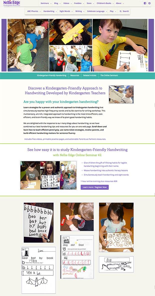 Discover a Kindergarten-Friendly Approach to Handwriting Developed by Kindergarten Teacher