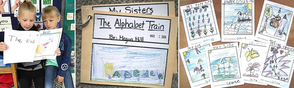6. Publish kindergartners' writing
