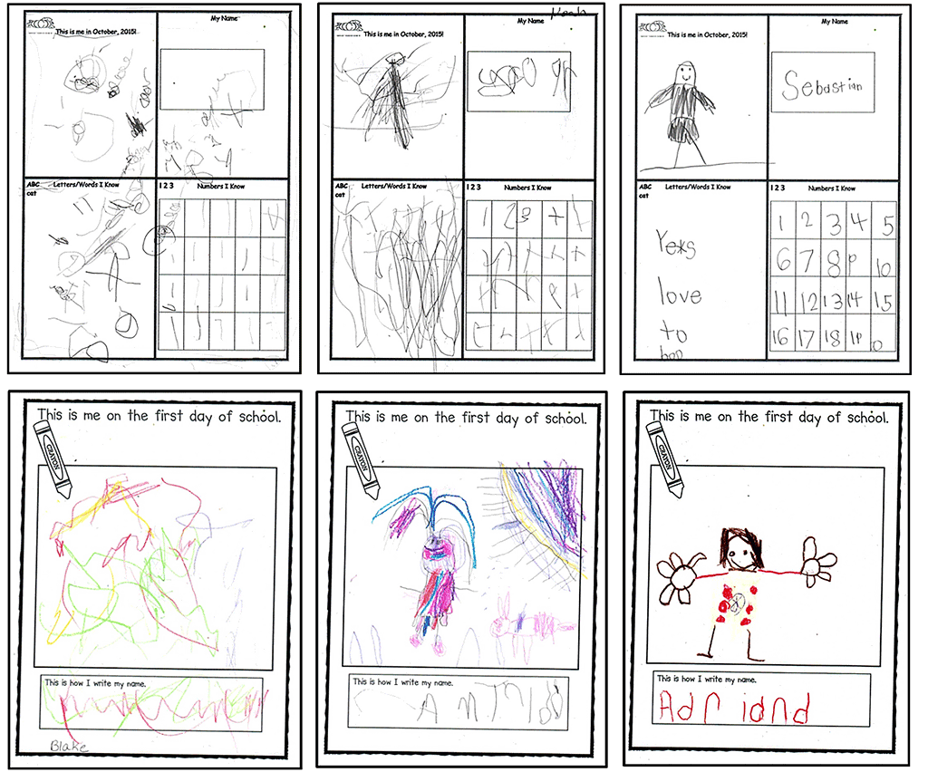 7. Kindergarten-friendly handwriting differentiates learning