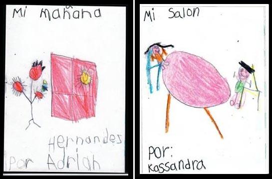 Kindergarten-friendly handwriting