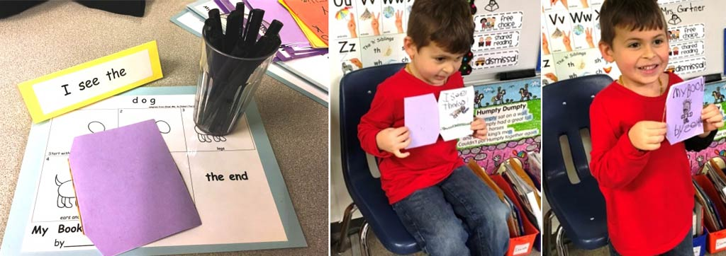 4. Create independent writing centers