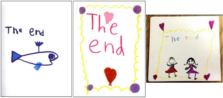 the-end-kindergarten-book-pages