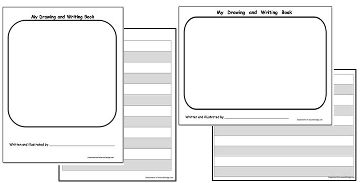 write a book template