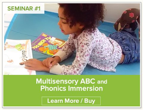 Multisensory ABC and Phonics Immersion Seminar by Nellie Edge