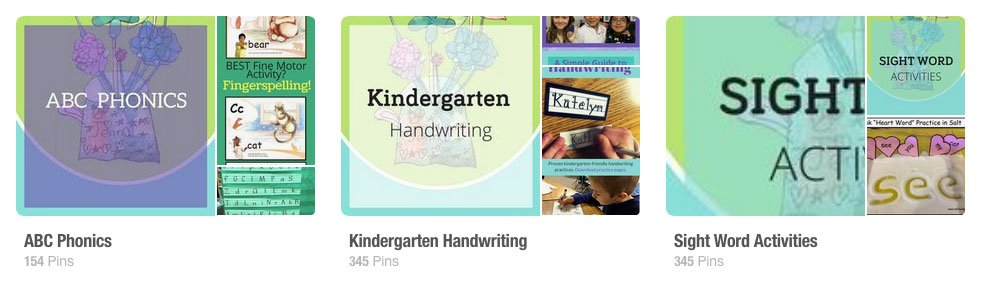 Nellie Edge Kindergarten Pinterest Boards