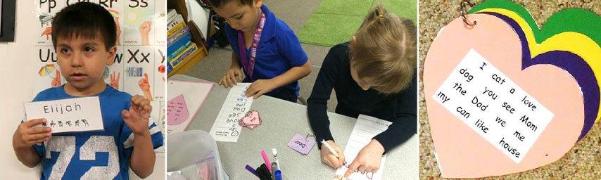Fingerspelling in Kindergarten