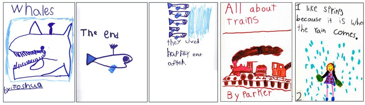 Your students will become prolific kindergarten writers. They'll proudly write and illustrate their own books!