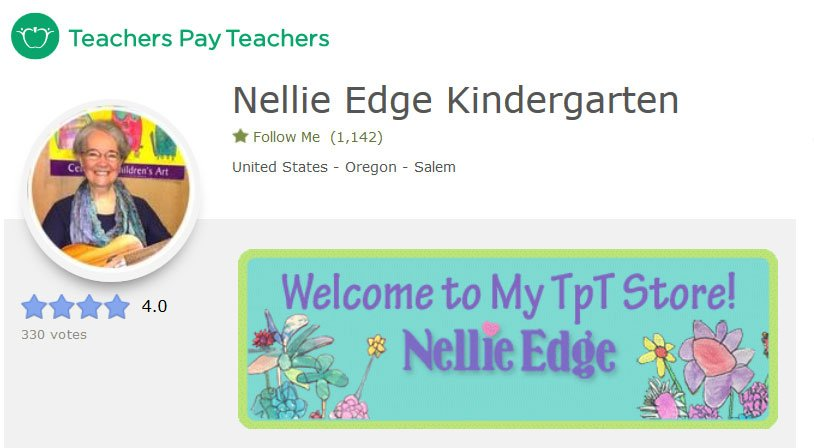 Nellie Edge Kindergarten on TpT