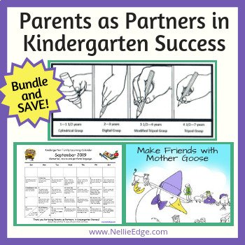 96-page Power Guide: Parents as Partners in Kindergarten Success