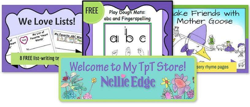 New TpT resources from Nellie Edge