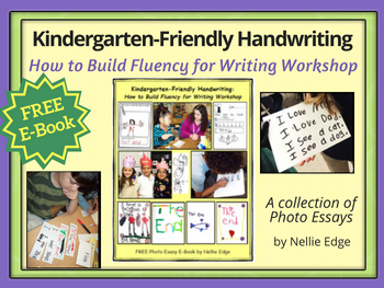 Download Our Latest FREE E-Book on TPT! Why Does Kindergarten-Friendly Handwriting Matter?