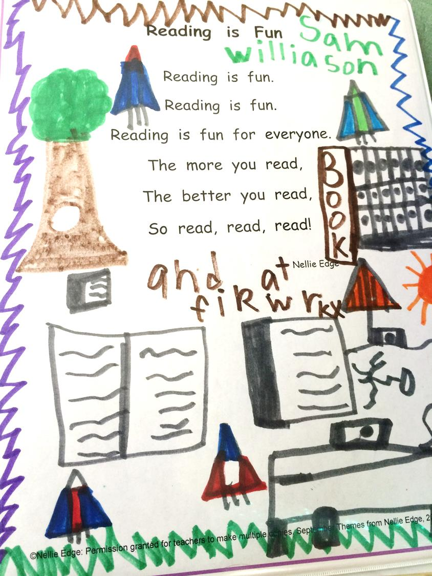 """I Can Read"" Poetry Anthologies: Poems, Songs, Rhymes, and Spelling Chants"