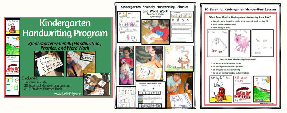 Kindergarten-Friendly Handwriting Program