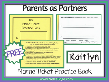 Parents as Partners Free on TpT