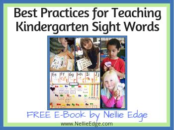 Free Kindergarten Teacher Resources - e-book