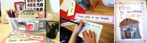 Write-a-Message Center empowers children to use writing for real world purposes.