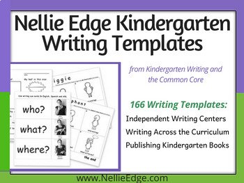 Kindergarten Writing Templates (over 200 pgs)