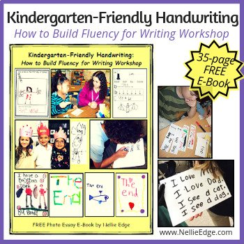 Free Ebook - Kindergarten-Friendly Handwriting lessons