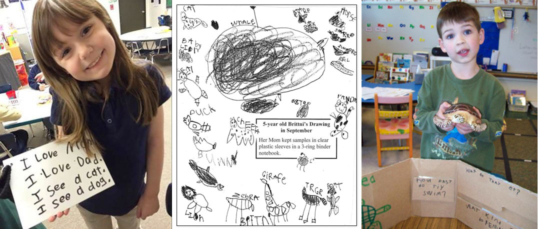 Kindergarten Families Can Support Their Young Writers