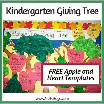 Kindergarten Giving Tree