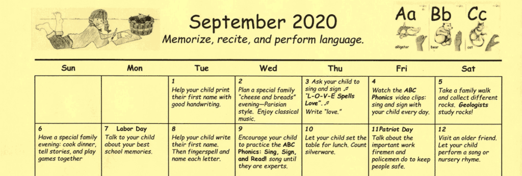 Rethinking Kindergarten Homework: Why Parents Deserve a Family-Friendly Learning Calendar