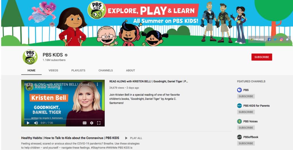 Favorite Kindergarten YouTube Videos