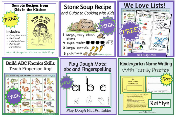 Enjoy More FREE Parents as Partners Resources by Nellie Edge on TpT